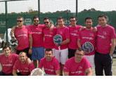 Discreta actuación del equipo de pádel del Club de Tenis Totana