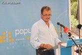 El Partido Popular de Totana tendrá 29 compromisarios y 1 de nuevas generaciones en el XV Congreso Regional