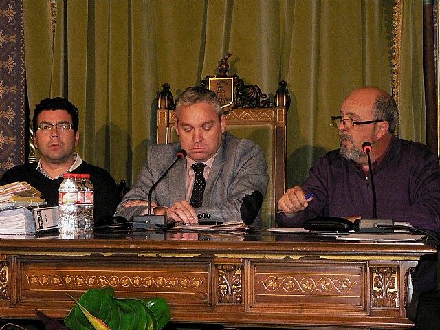 El pleno aprueba de manera inicial una ordenanza para regular las vías y espacios públicos de Mazarrón, Foto 1