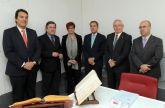García Retegui y Patricio Ballester toman posesión como vocales del Consejo Social de la Universidad de Murcia