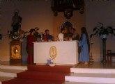 AJVA representa la Pasión de Cristo esta Semana Santa con un texto teatral que llevan ensayando 6 meses una treintena de jóvenes