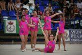 Más de medio millar de niños participan en la XXXI Competición escolar de Gimnasia Rítmica