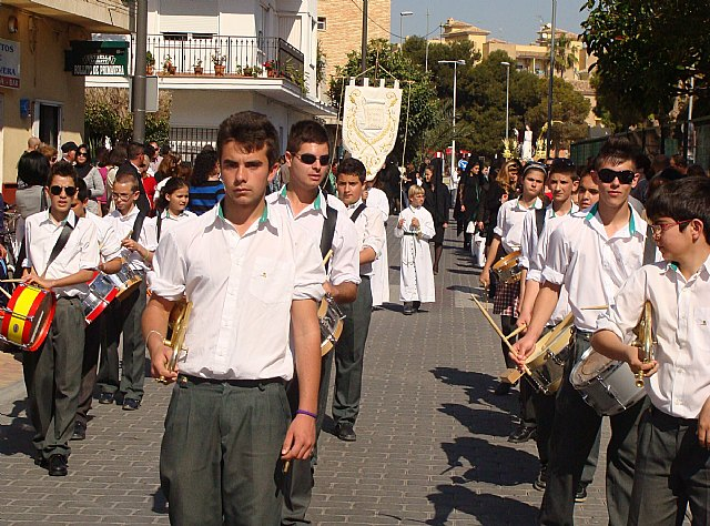 Los alumnos del San Pedro Apóstol protagonizan el traslado en procesión de la imagen de San Juan - 1, Foto 1