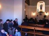 El pasado Viernes de Dolores tuvo lugar una misa en la ermita del Calvario