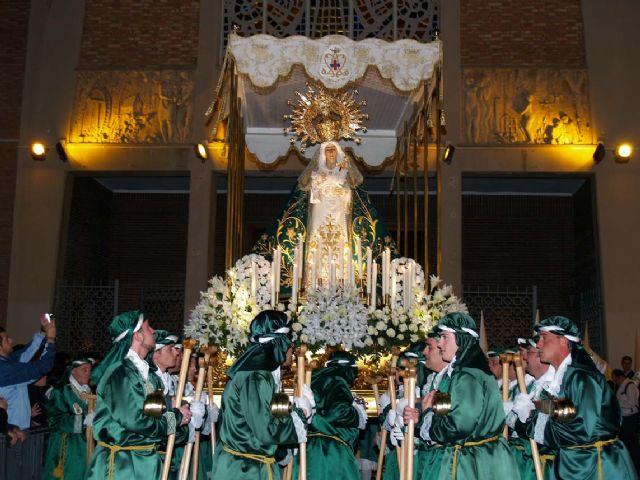 La procesión de la penitencia con la Macarena y el Cristo de Medinaceli - Martes Santo - 1, Foto 1