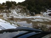 Tremenda granizada en Moratalla