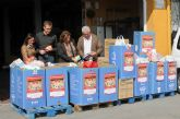 La Universidad de Murcia entrega a Cáritas los alimentos recogidos en la campaña solidaria