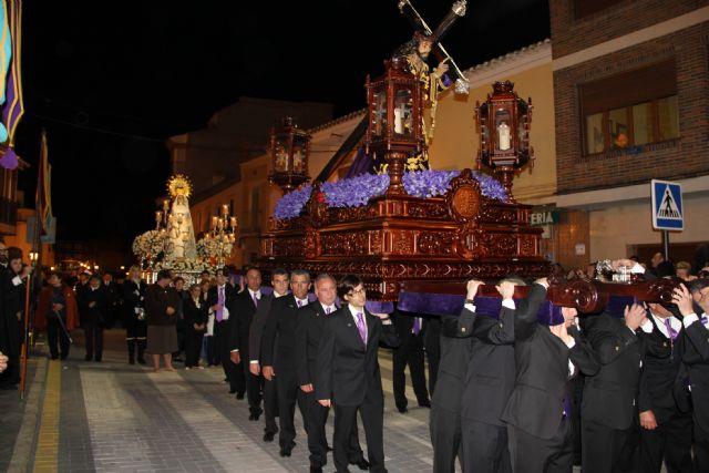 El Nazareno protagonizó la noche de Miércoles Santo en Puerto Lumbreras - 1, Foto 1