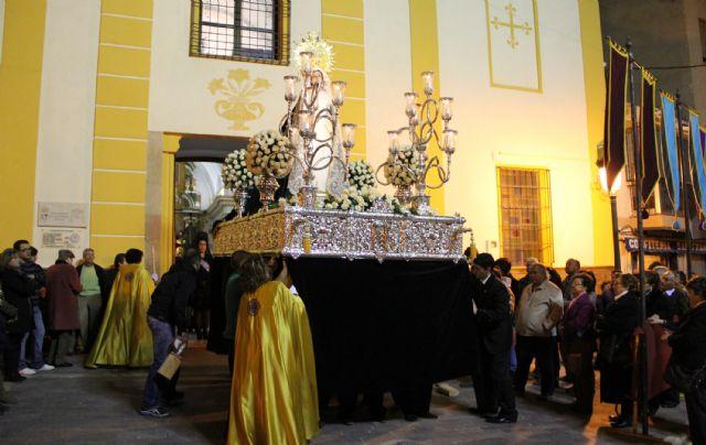 El Nazareno protagonizó la noche de Miércoles Santo en Puerto Lumbreras - 2, Foto 2
