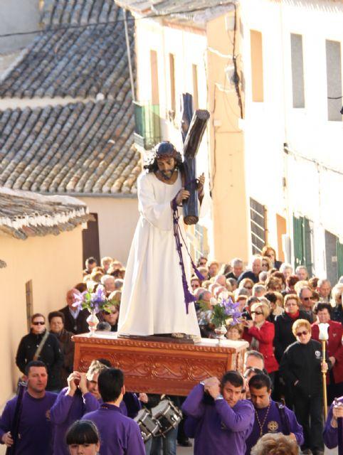 Puerto Lumbreras celebra el Vía Crucis por el casco antiguo y hasta el entorno del Castillo de Nogalte recientemente rehabilitado - 3, Foto 3