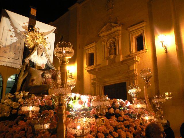 Mazarrón vive su Santo Entierro en una noche cargada de emociones - 3, Foto 3