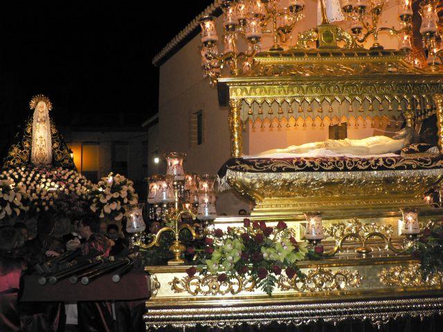 Mazarrón vive su Santo Entierro en una noche cargada de emociones - 4, Foto 4