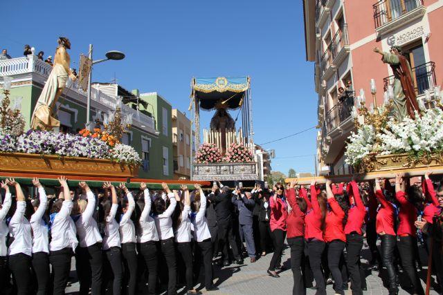 Puerto Lumbreras culmina su Semana Santa 2012 con la procesión del Encuentro - 1, Foto 1