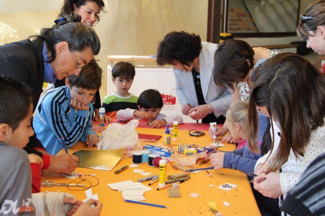 La concejalía de Cultura y Turismo organiza talleres para niños en el entorno del Castillo de Nogalte y las Casas-Cueva - 4, Foto 4