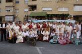El grupo de Coros y Danzas Ciudad de Totana promocionó una vez más a la ciudad de Totana en el Bando de la Huerta
