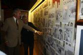 Una exposición fotográfica resume en imágenes la historia de la tauromaquia en Murcia