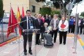 Inaugurado un jardín en Roldán en homenaje a Martín Martínez Pérez