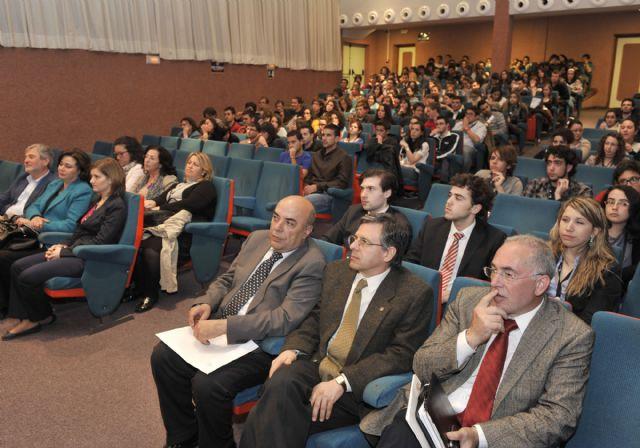 El rector y la consejera de Sanidad clausuraron el congreso nacional de estudiantes de Medicina - 1, Foto 1