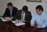 El Ayuntamiento firma el convenio anual con los comerciantes y asume la inversi�n necesaria para la Feria Outlet