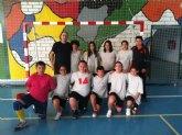 4 victorias de los colegios de Mazarr�n frente a los de Totana en Deporte Escolar