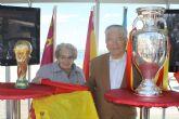 Más de 5.000 personas visitaron la Copa del Mundo en San Javier