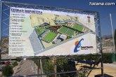 La alcaldesa propondrá en el próximo Pleno ordinario que la Ciudad Deportiva 'Sierra Espuña' de Totana pase a denominarse 'Valverde Reina'