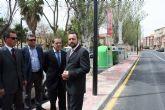 La Comunidad invierte en Alcantarilla 233.000 euros para mejorar aceras y reponer alumbrado público en diferentes calles del municipio