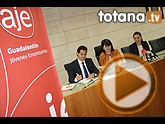 El ayuntamiento y la Asociación de Jóvenes Empresarios del Gualdalentín firman un convenio de colaboración