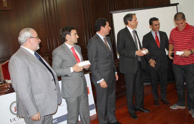 La UCAM, Banco Santander, la EPT y Vodafone, presentan un proyecto de NFC para control de asistencia y acceso al Campus de Los Jerónimos - 1, Foto 1