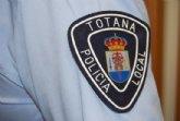 La Policía Local de Totana detiene a dos personas que tuvieron un accidente en la RM-3 en un coche que habían robado