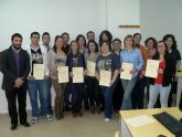17 alumnos finalizan con �xito el curso de comercio internacional y servicio de transporte de mercanc�as