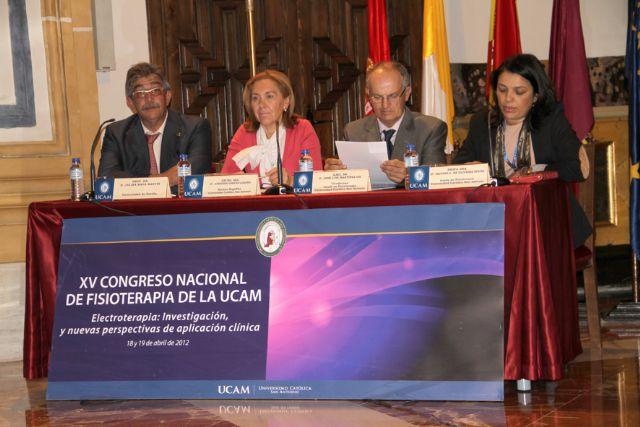 XV Congreso Nacional de Fisioterapia UCAM `Electroterapia: investigación y nuevas perspectivas de aplicación clínica´ - 1, Foto 1