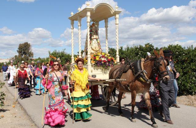 Romería en Honor a la Virgen del Rocío en Puerto Lumbreras - 2012 - 1, Foto 1
