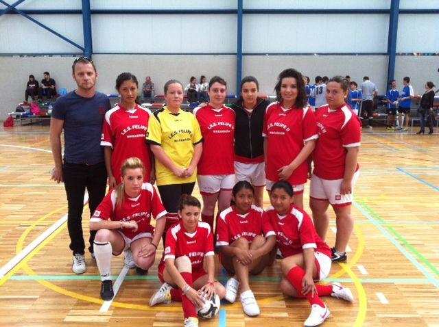 El I.E.S. Felipe II subcampeón regional en fútbol sala femenino juvenil de Deporte Escolar - 1, Foto 1