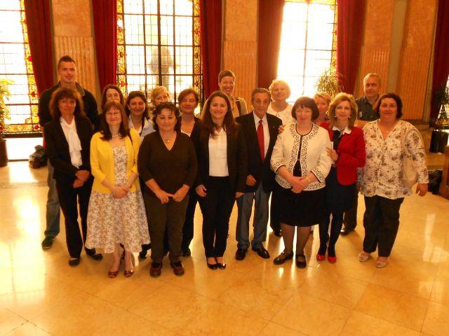María Dolores Sánchez ofrece una recepción a los participantes en la visita de estudio Calidad en la Formación del Profesorado - 1, Foto 1