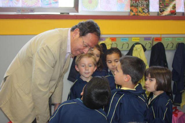 El Alcalde se suma al XV maratón de lectura del Colegio Antonio de Nebrija dedicado al deporte - 2, Foto 2