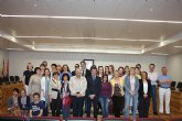 El alcalde de Torre-Pacheco recibe a alumnos del proyecto Comenius