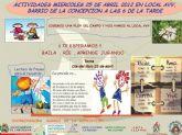 Servicios Sociales se une a las actividades por el Día del Libro