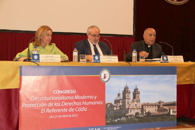 La UCAM conmemora el centenario de la Constitución de Cádiz - 1, Foto 1