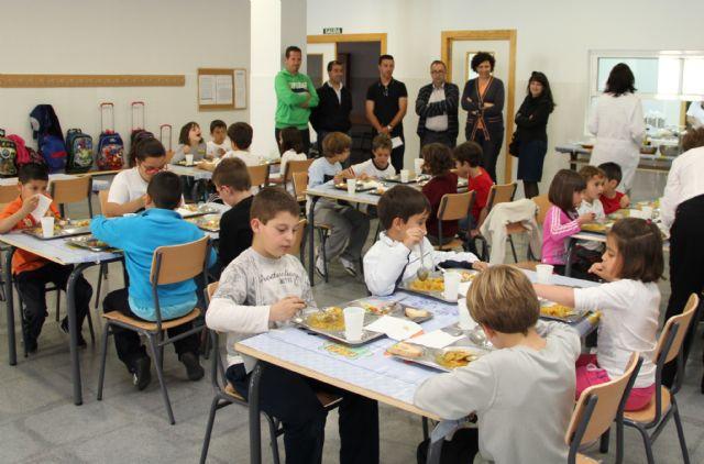 Nuevo servicio de comedor escolar en el Colegio Público Sagrado Corazón de Puerto Lumbreras - 1, Foto 1