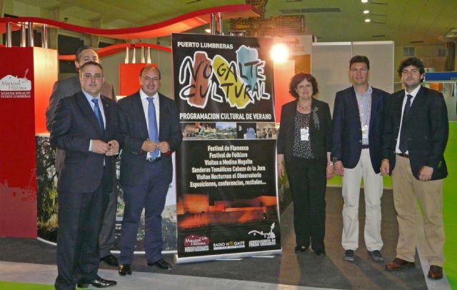Puerto Lumbreras cierra Turismur 2012 con la presentación del cartel de Nogalte Cultural que incluye más de 40 actividades culturales y turísticas - 1, Foto 1