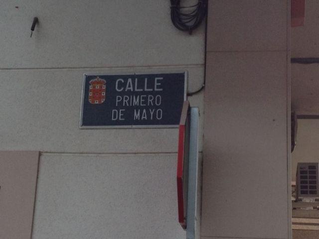 PSOE: El 1 de Mayo se celebra en la pedanía de Zarandona quitándole el nombre a la calle - 1, Foto 1