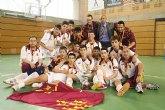 Murcia reina en cadetes y revalida el título de Campeón de España