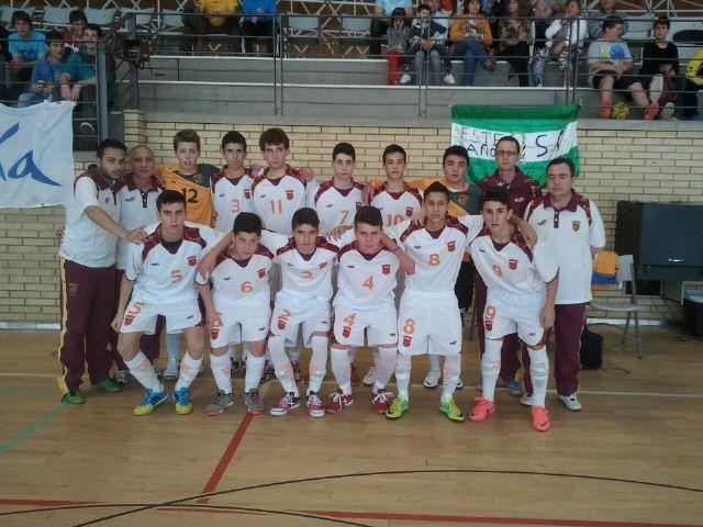 2 mazarroneros se proclaman campeones de España de Fútbol Sala con la Selección Murciana Cadete - 2, Foto 2