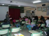 El IES 'Prado Mayor' acoge charlas informativas sobre el proyecto 'Agrégate' dentro de programa de corresponsales juveniles
