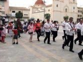 Una manifestación a favor de la lectura clausuró 'el mes del libro' en San Javier