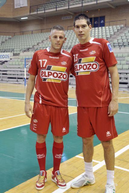 Kike y Miguelín estarán en el pabellón de Deportes de Alhama con la Copa de Europa Croacia´12 el día 9 de Mayo, Foto 1