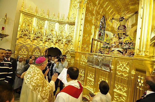 Cieza celebra la apertura del Año Jubilar con motivo del IV centenario de la imagen del Stmo. Cristo del Consuelo - 1, Foto 1