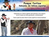 Pampa Carlino, artista argentino afincado en Totana, estrena web