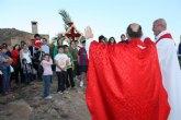 Torre-Pacheco recupera su cruz del Cabezo Gordo en la fiesta de la Cruz